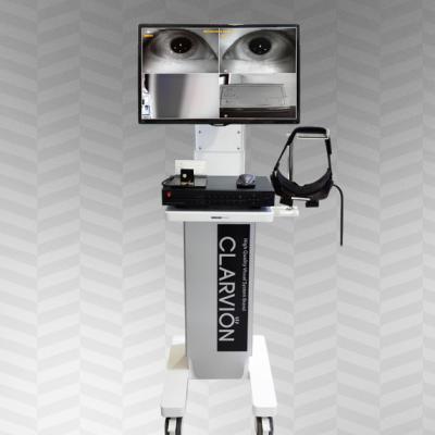 hệ thống chẩn đoán tiền đình bằng kính frenzel tích hợp camera